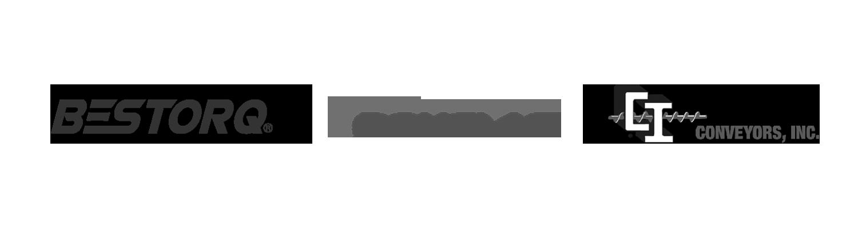 Bestorq Logo Douglas Manufacturing Logo Conveyors Inc Logo